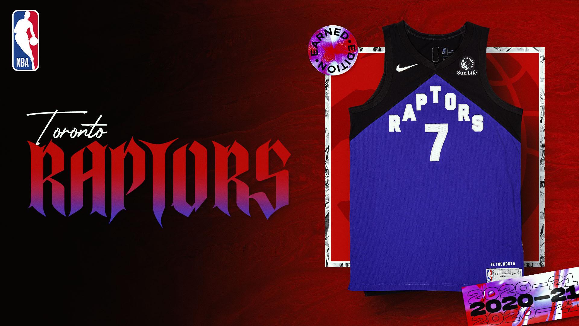 Nike Earned Edition Jersey: Toronto Raptors