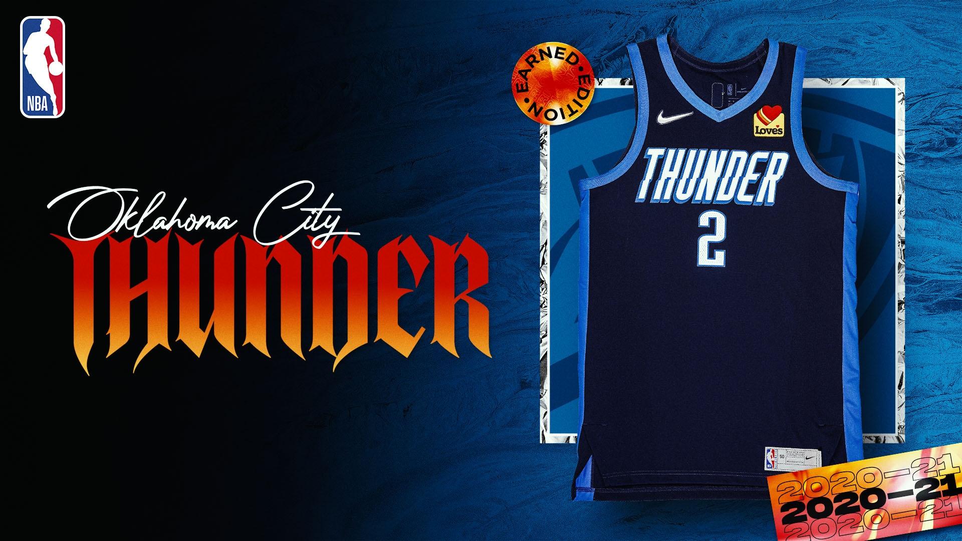 Nike Earned Edition Jersey: Oklahoma City Thunder
