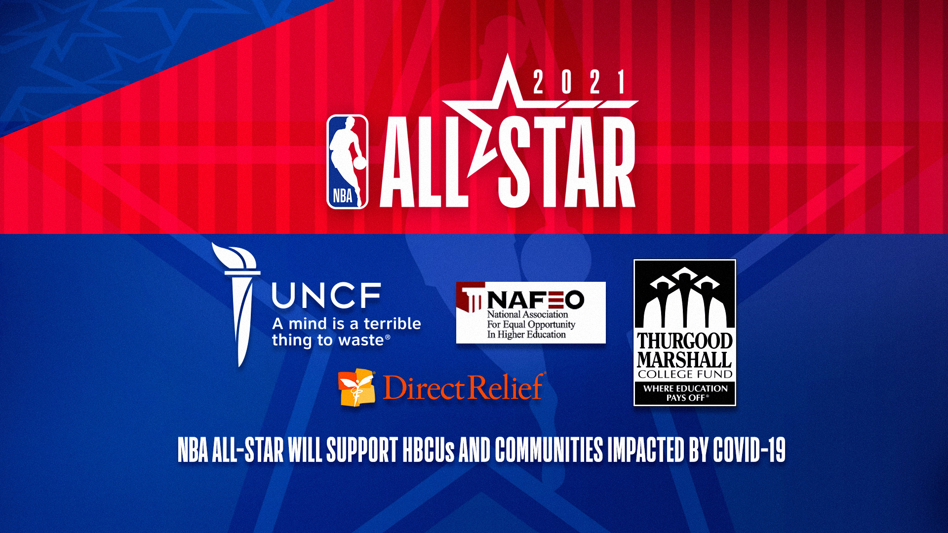 2021 NBA All-Star: Beneficiaries and Community Partners