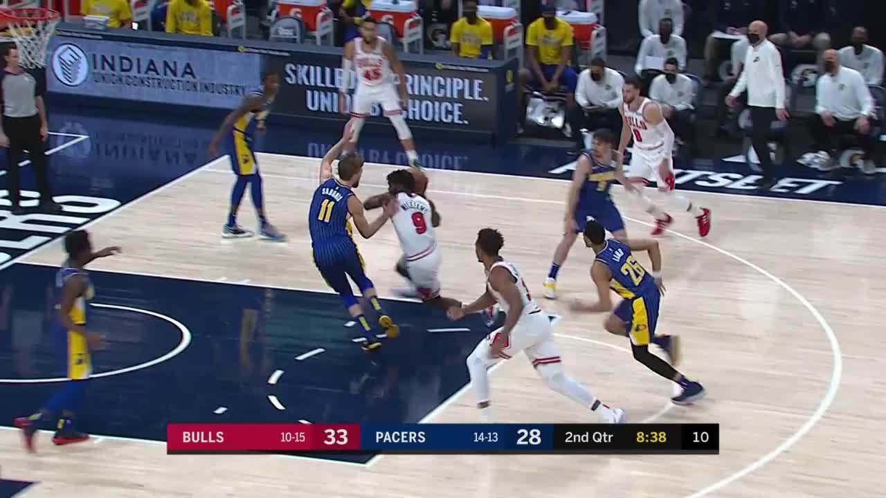 Domantas Sabonis (25 points) Highlights vs. Chicago Bulls