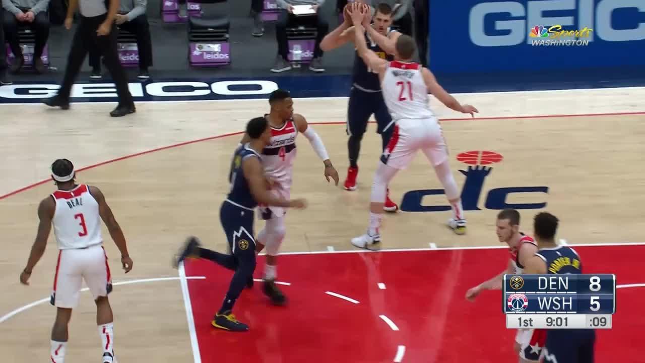 Nikola Jokic (33 points) Highlights vs. Washington Wizards