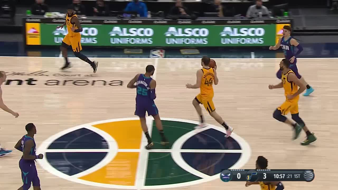 Charlotte Hornets Highlights vs. Utah Jazz