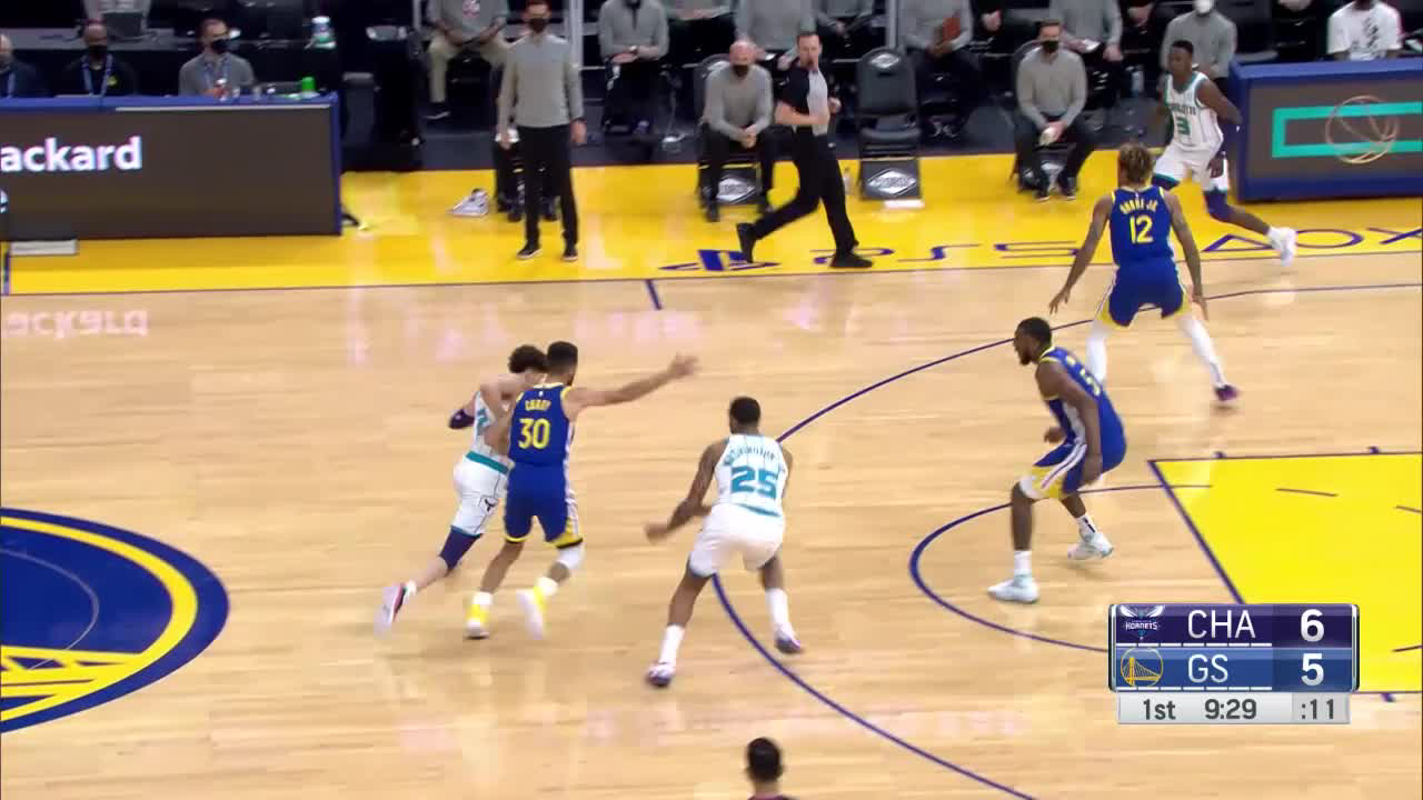 Charlotte Hornets Highlights vs. Golden State Warriors