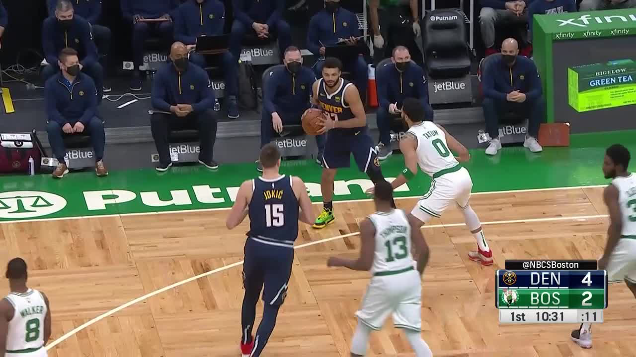 Jamal Murray (25 points) Highlights vs. Boston Celtics