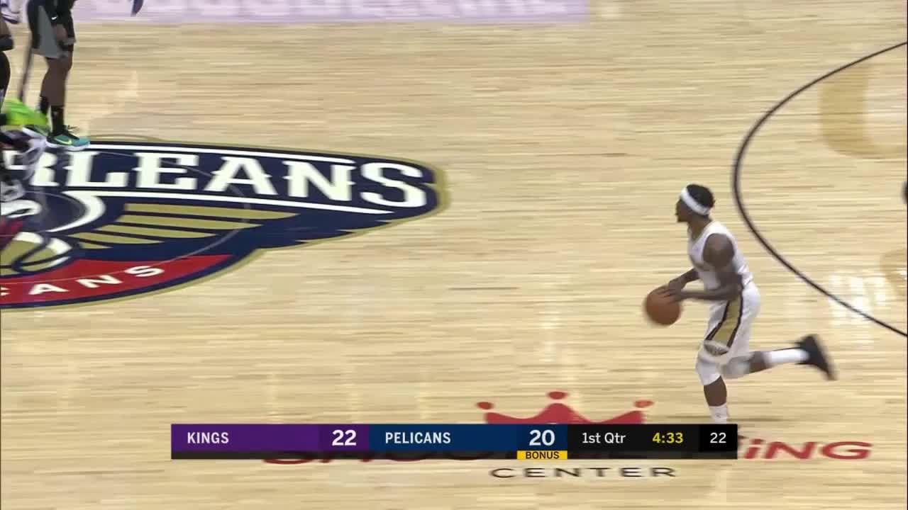 Pelicans Stat Leader Highlights: Willy Hernangomez posts 13 points & 11 rebounds vs. Sacramento Kings