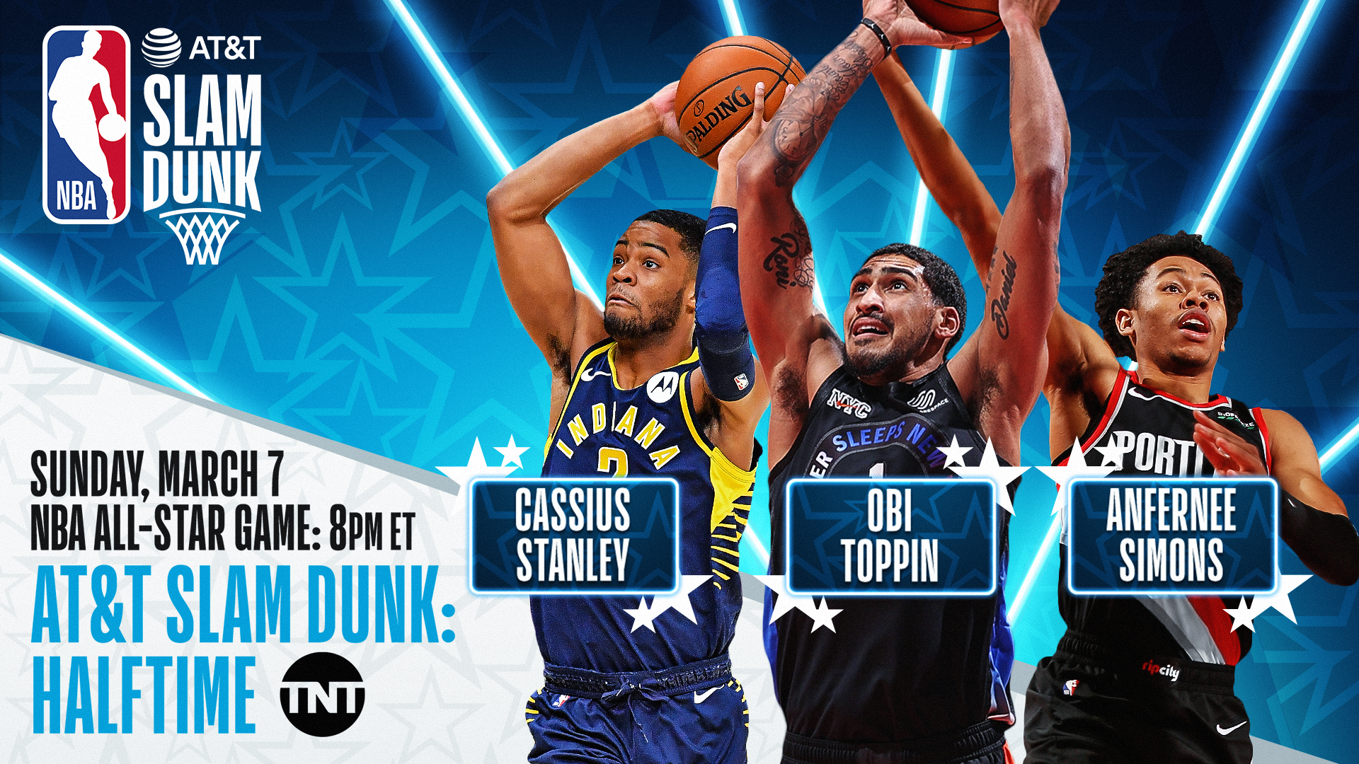 2021 AT&T Slam Dunk field revealed