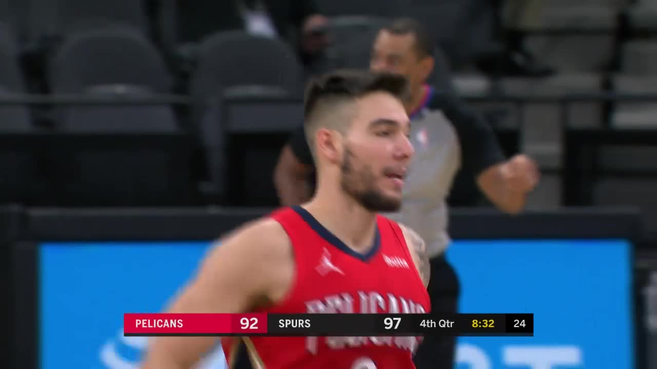 New Orleans Pelicans Highlights vs. San Antonio Spurs 2-27-21