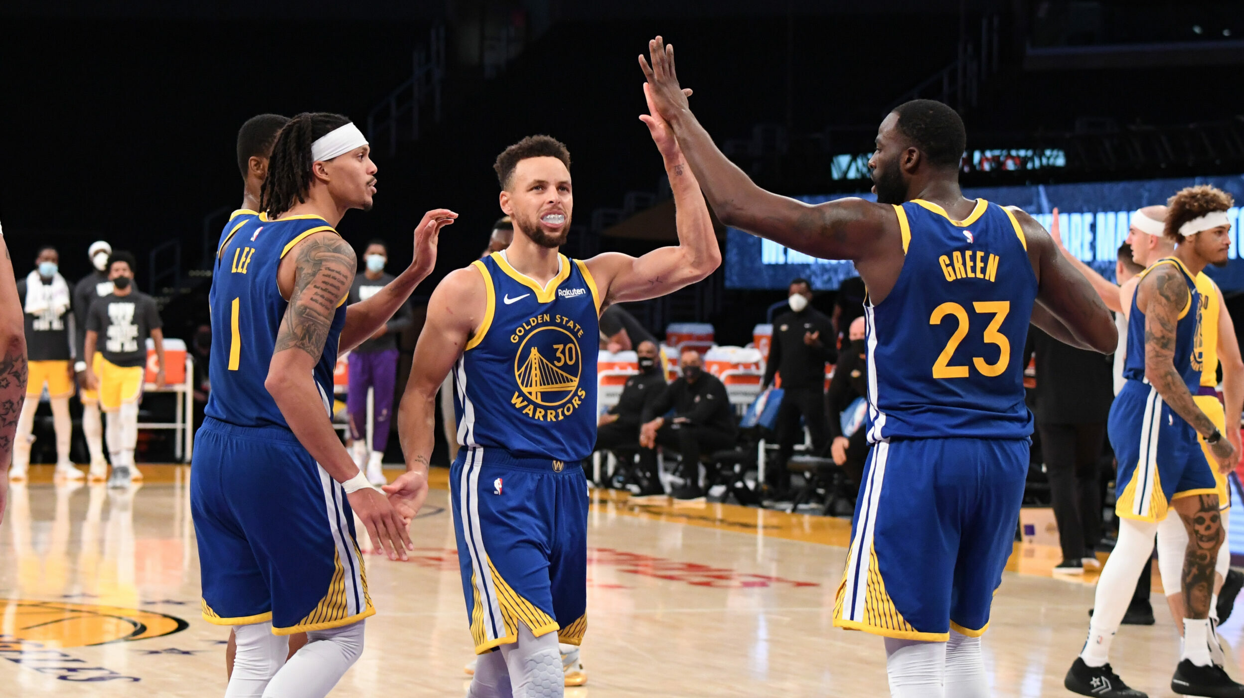 Kia MVP Ladder: Curry has Warriors cooking