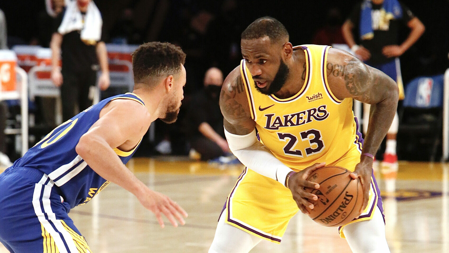 Warriors, Lakers to battle in Play-In Tournament