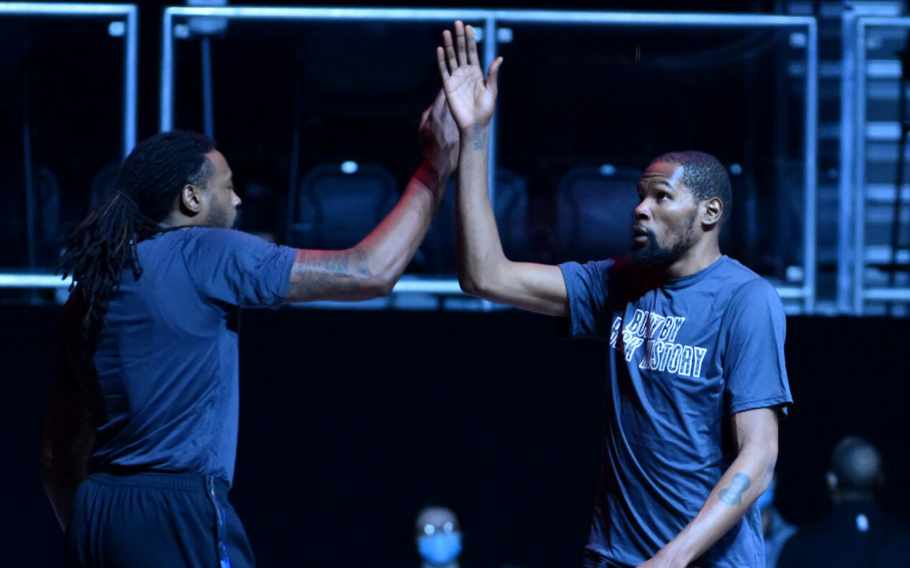 Kevin Durant is back for the Nets' most crucial stretch yet