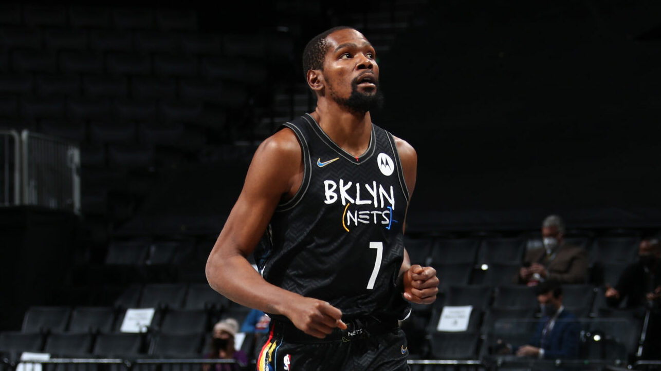 Durant (safety protocols), Irving (finger) out for Nets vs. Sixers