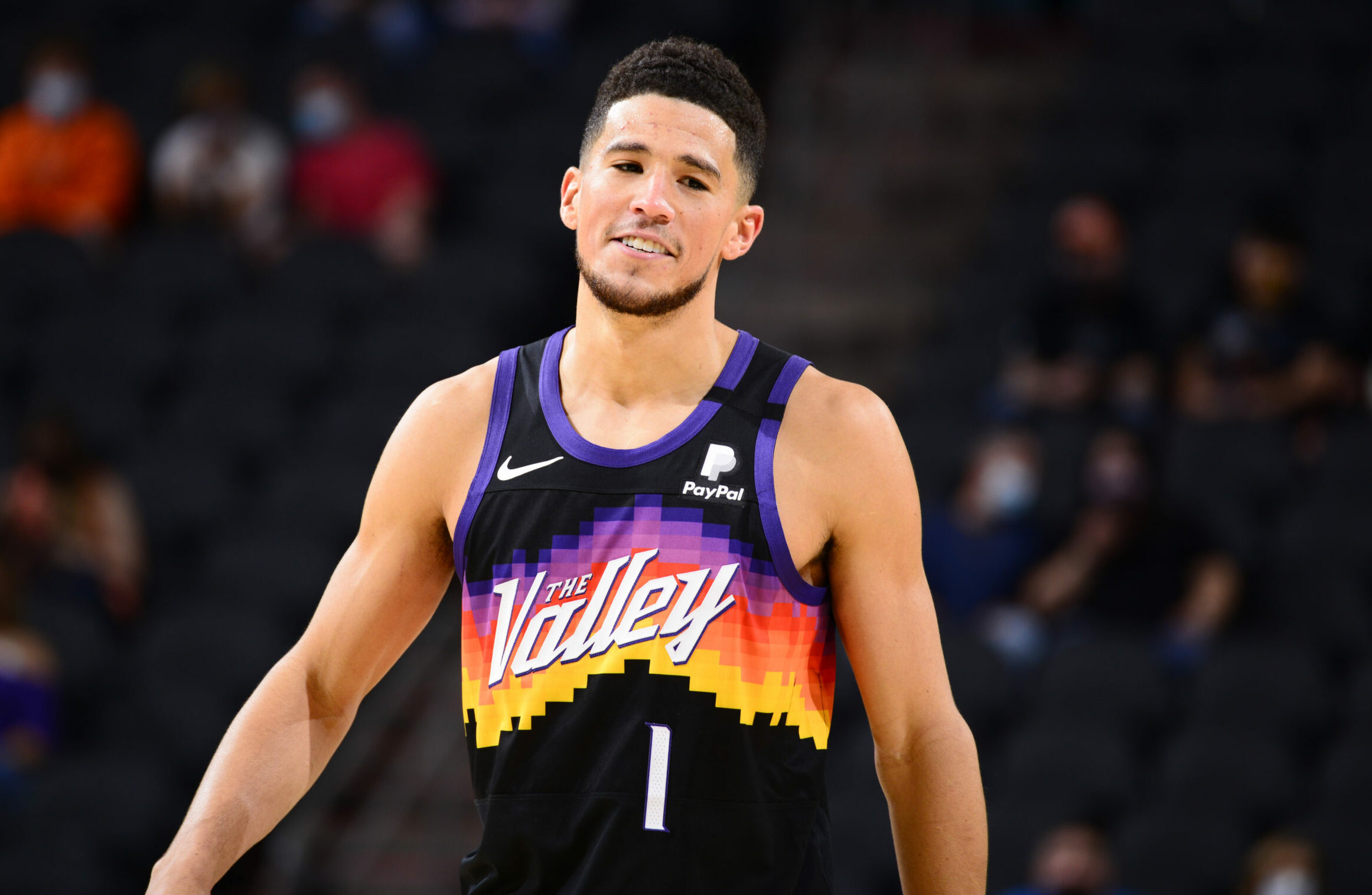 Devin Booker to replace Anthony Davis in NBA All-Star Game