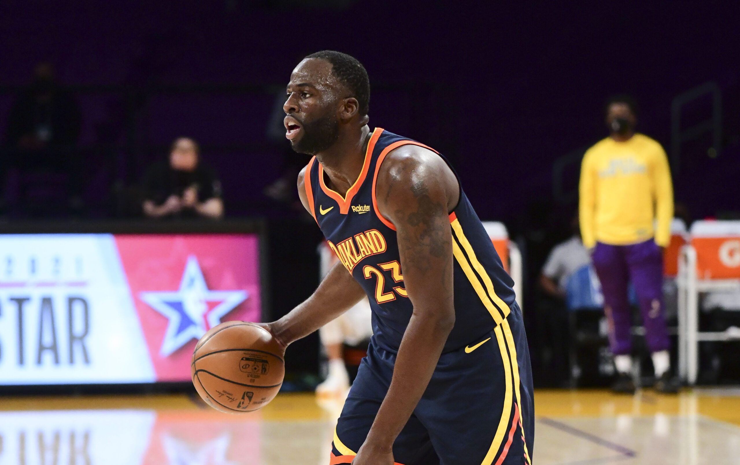 Draymond Green exits Warriors-Lakers with left ankle sprain