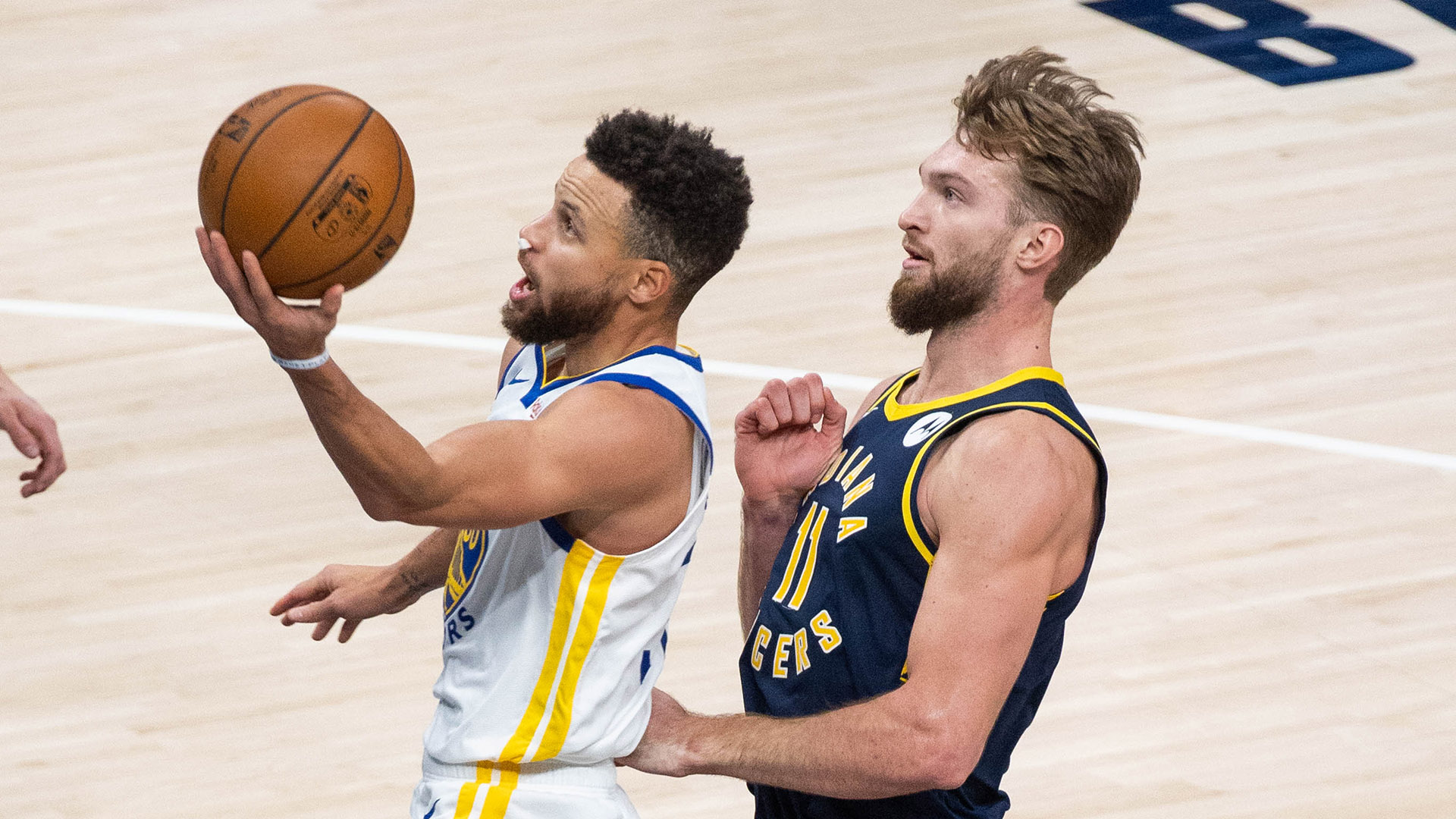 With Curry Leading The Way, Warriors Slow Down Pacers