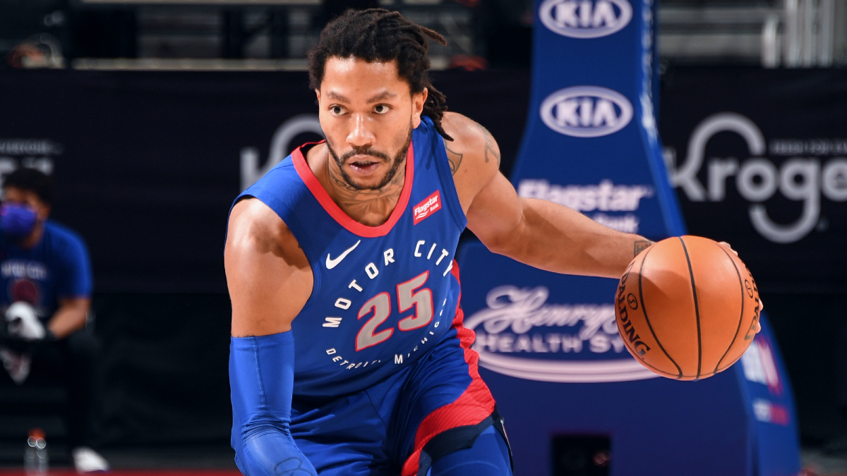 Knicks officially pick up Derrick Rose from Pistons