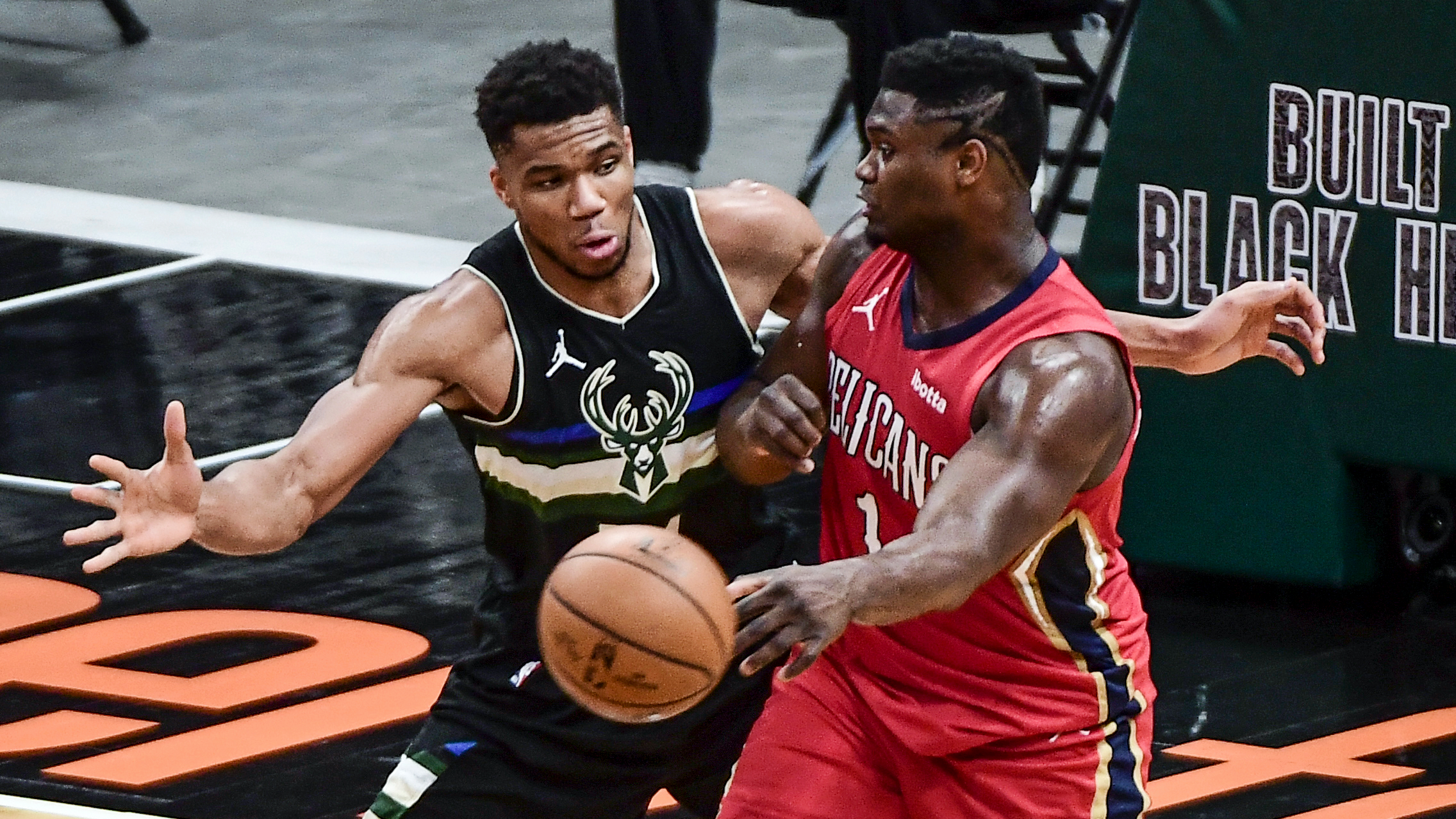 Giannis Outshines Zion As Bucks Outlast Pelicans