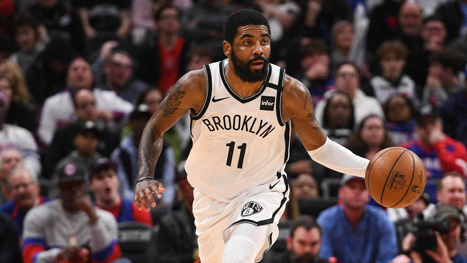 Nets' Kyrie Irving to rest shoulder Saturday vs. Mavs