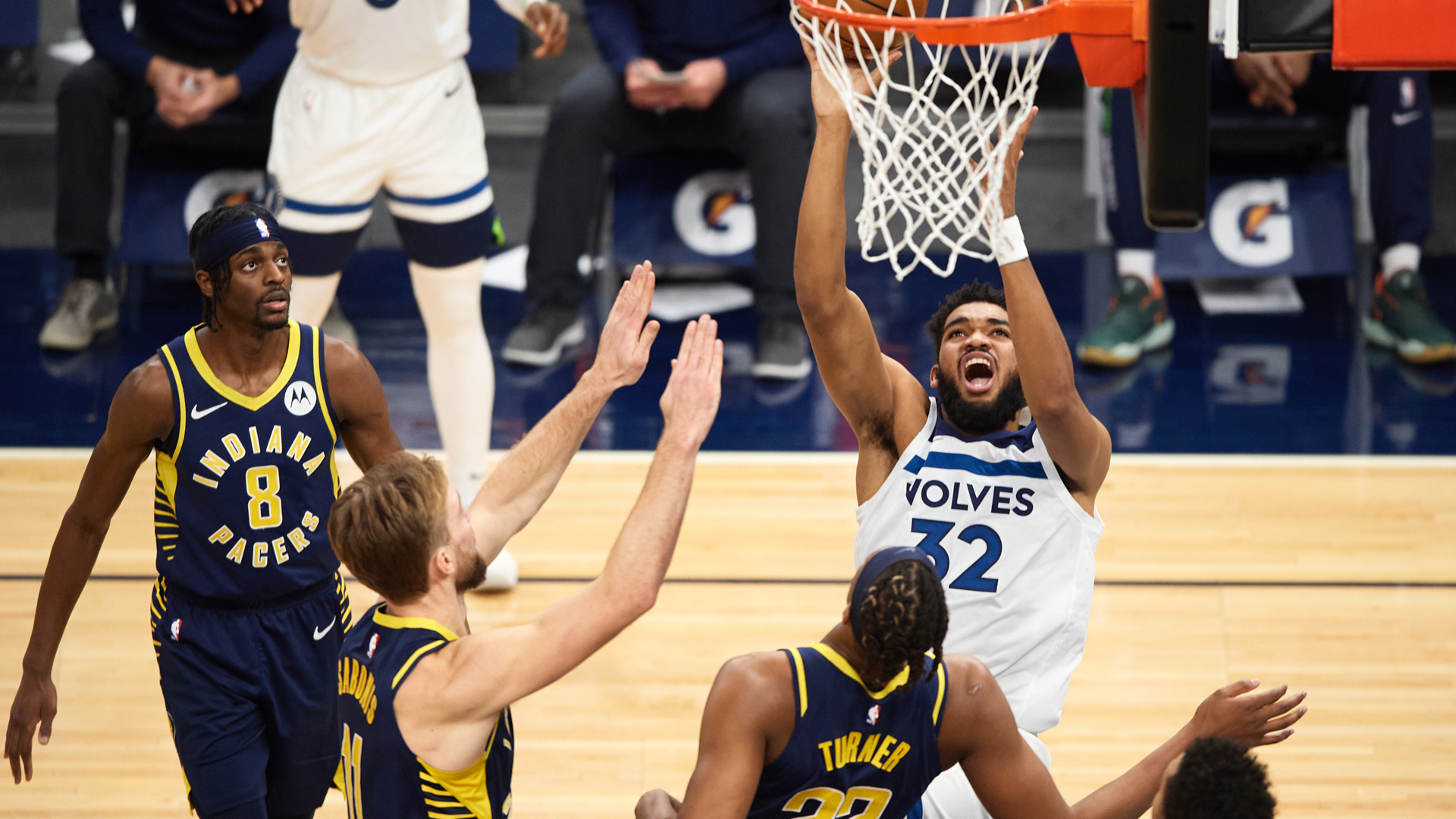 Game Recap: Pacers 134, Timberwolves 128