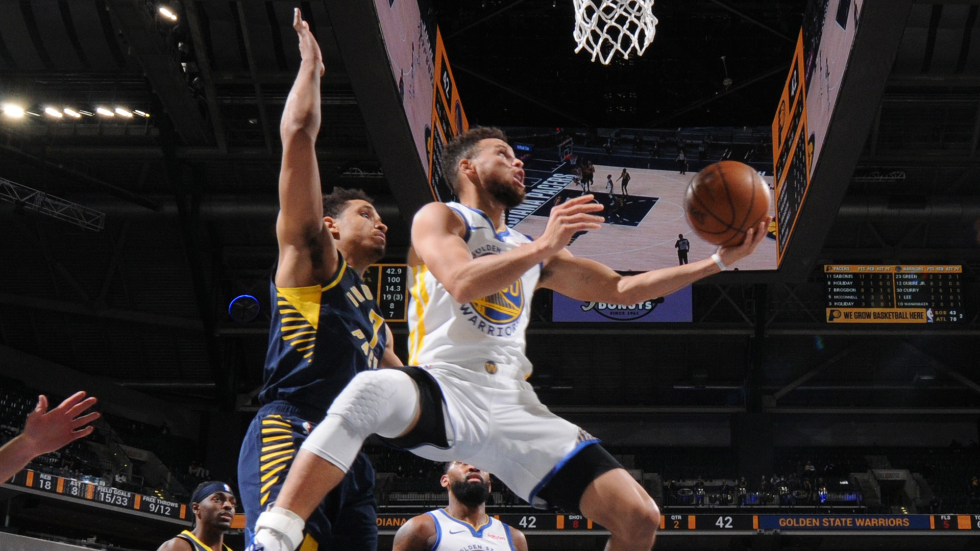 Game Recap: Warriors 111, Pacers 107