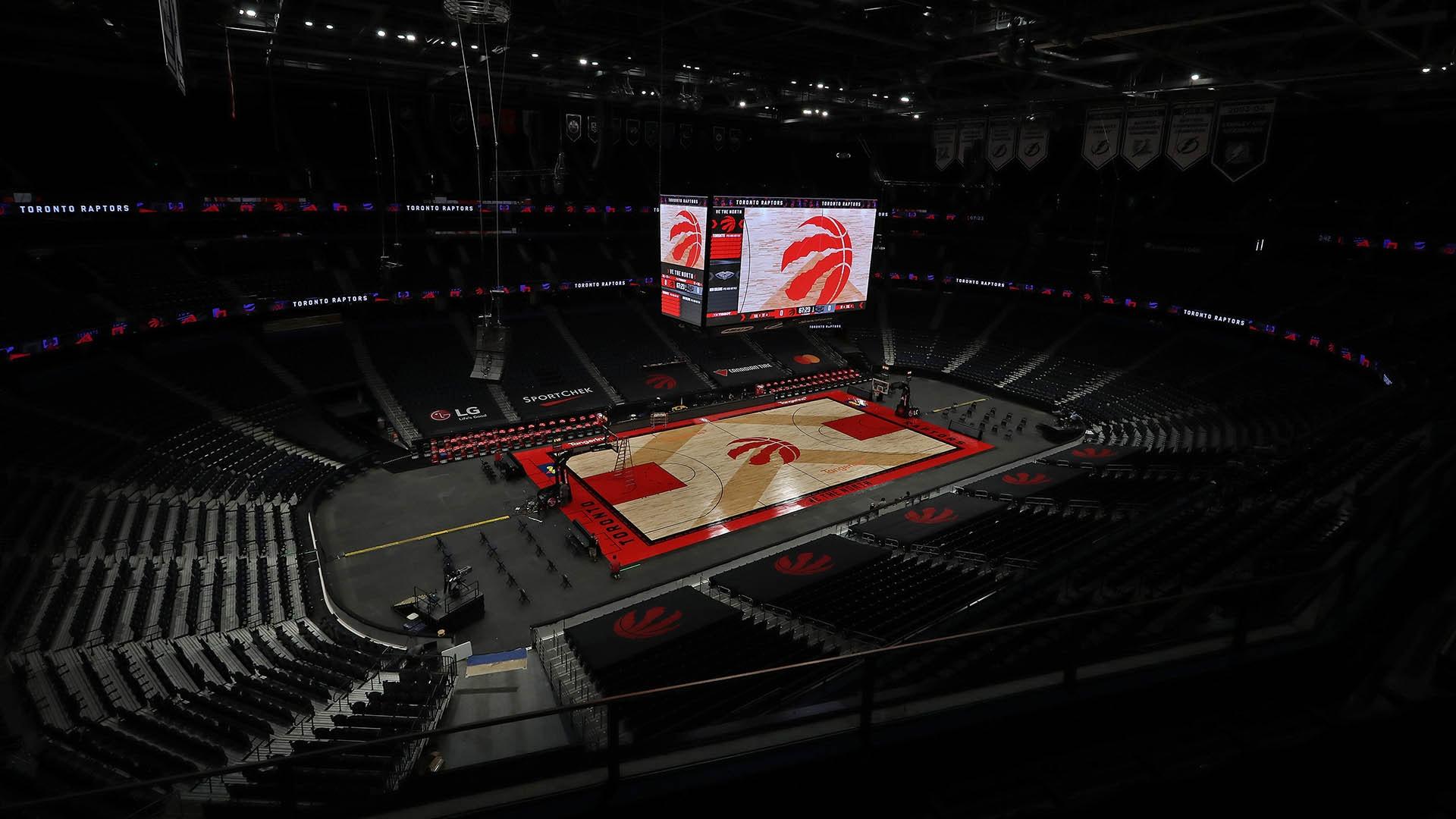 Raptors to finish 2020-21 season in Tampa