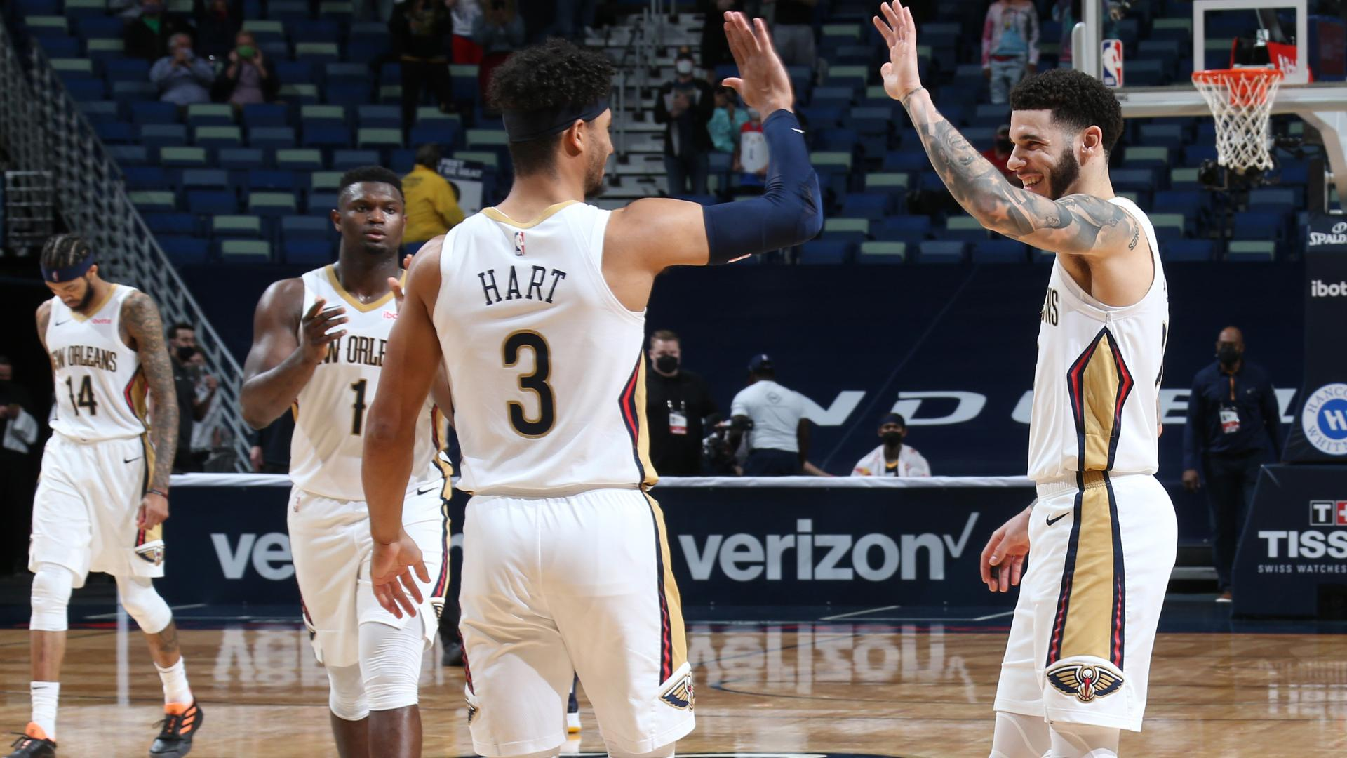Highlights: Pelicans' trio of Zion Williamson, Brandon Ingram & Lonzo Ball goes off vs. Jazz