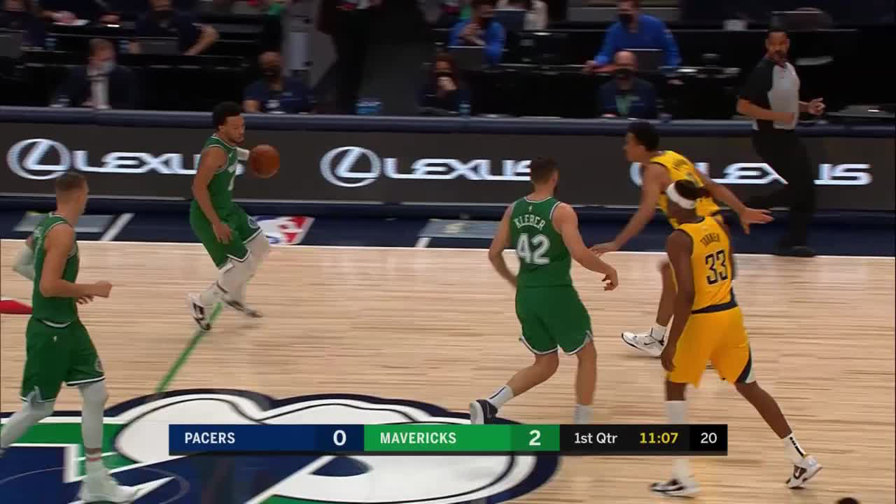 Myles Turner with 7 Blocks vs. Dallas Mavericks