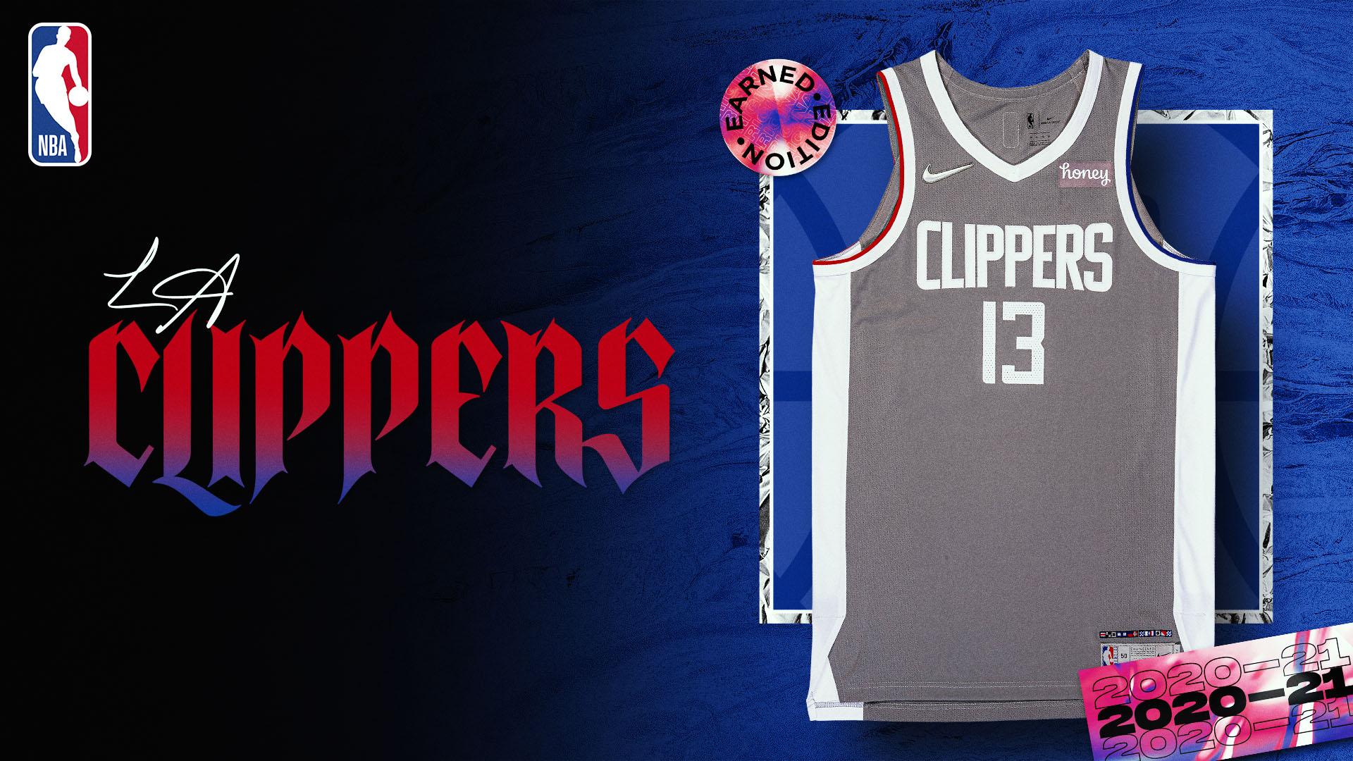 Nike Earned Edition Jersey: LA Clippers