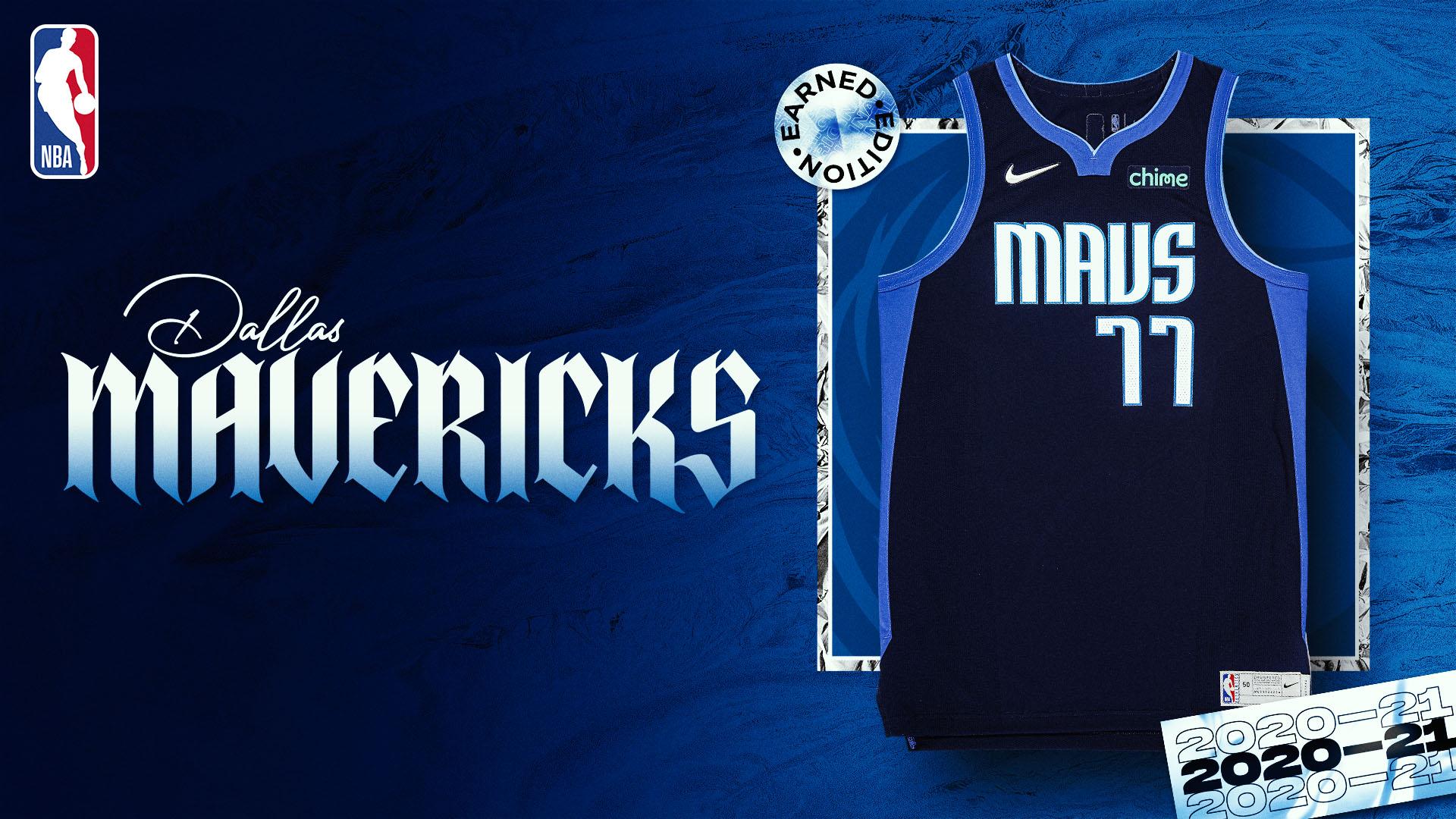 Nike Earned Edition Jersey: Dallas Mavericks
