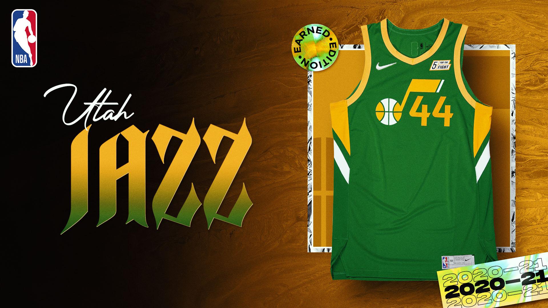 Nike Earned Edition Jersey: Utah Jazz