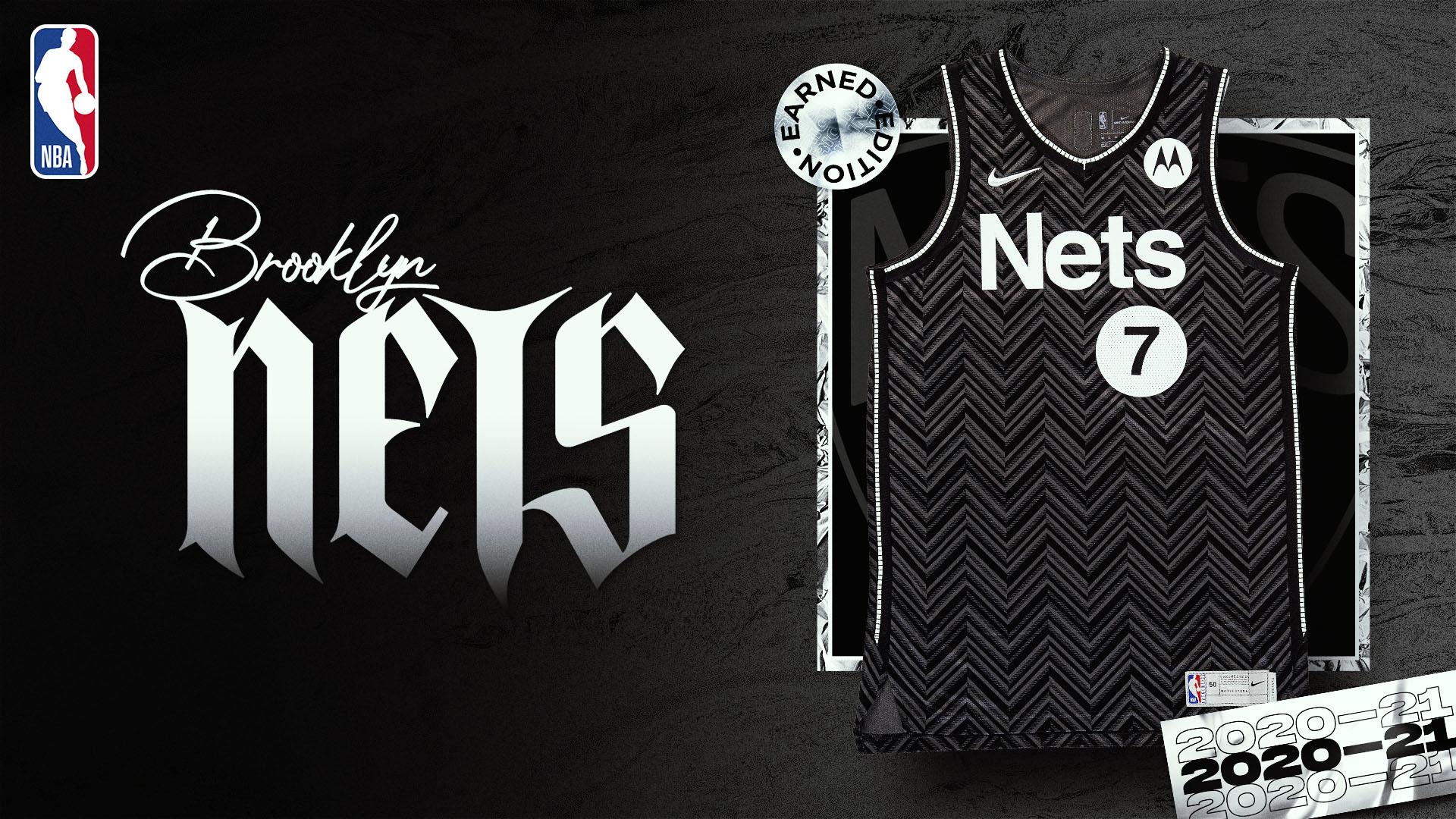 Nike Earned Edition Jersey: Brooklyn Nets