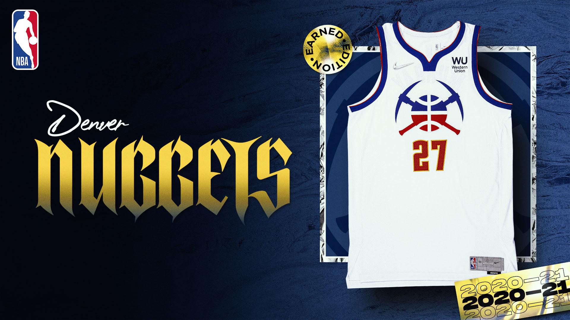 Nike Earned Edition Jersey: Denver Nuggets