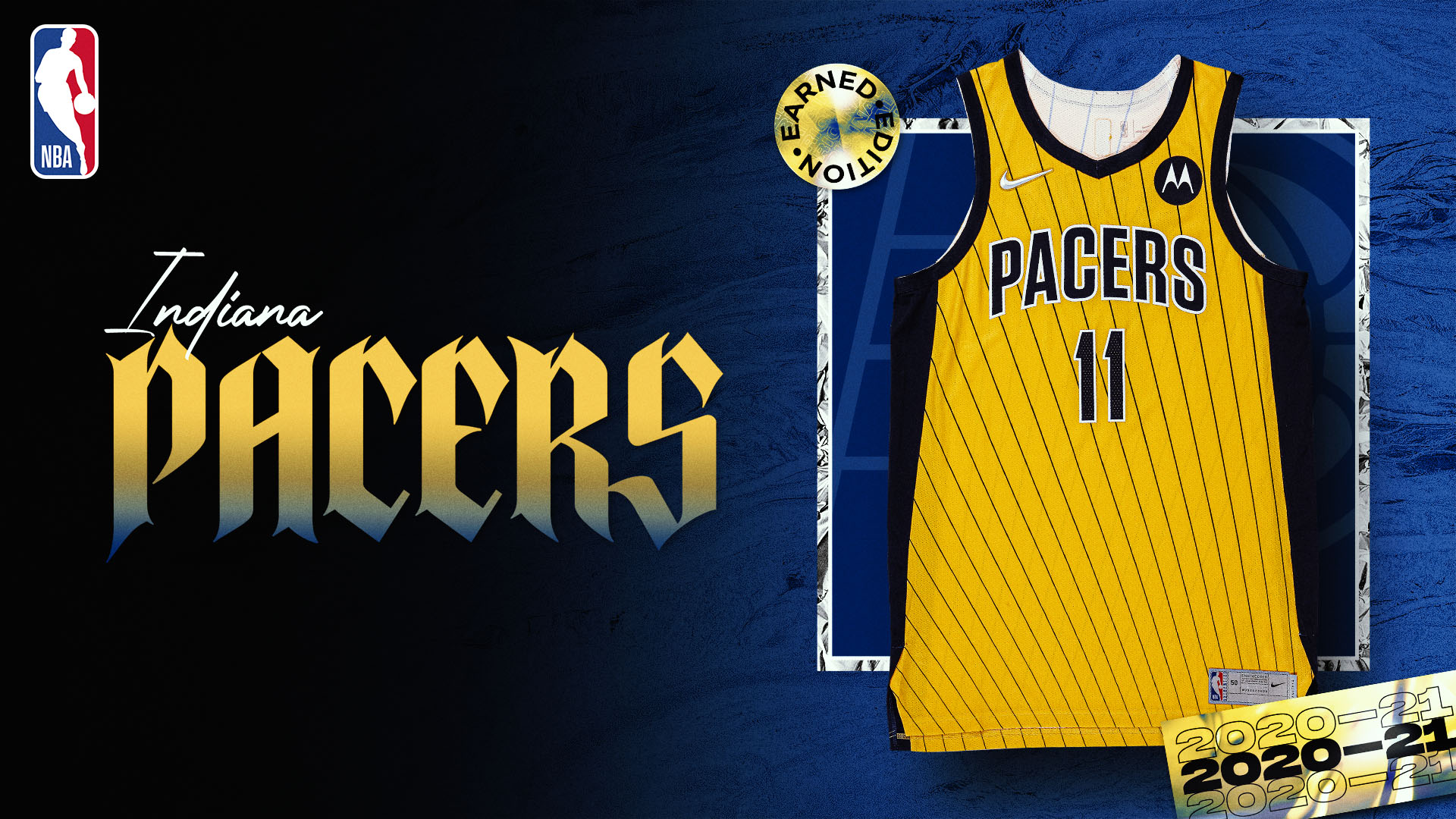 Nike Earned Edition Jersey: Indiana Pacers