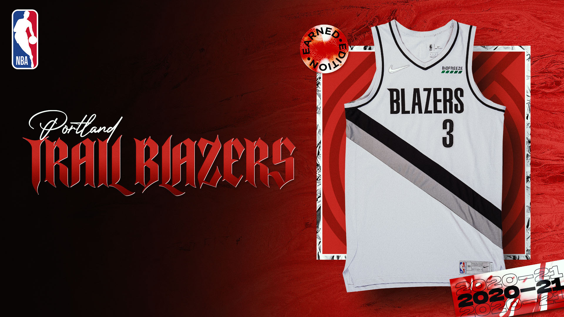 Nike Earned Edition Jersey: Portland Trail Blazers
