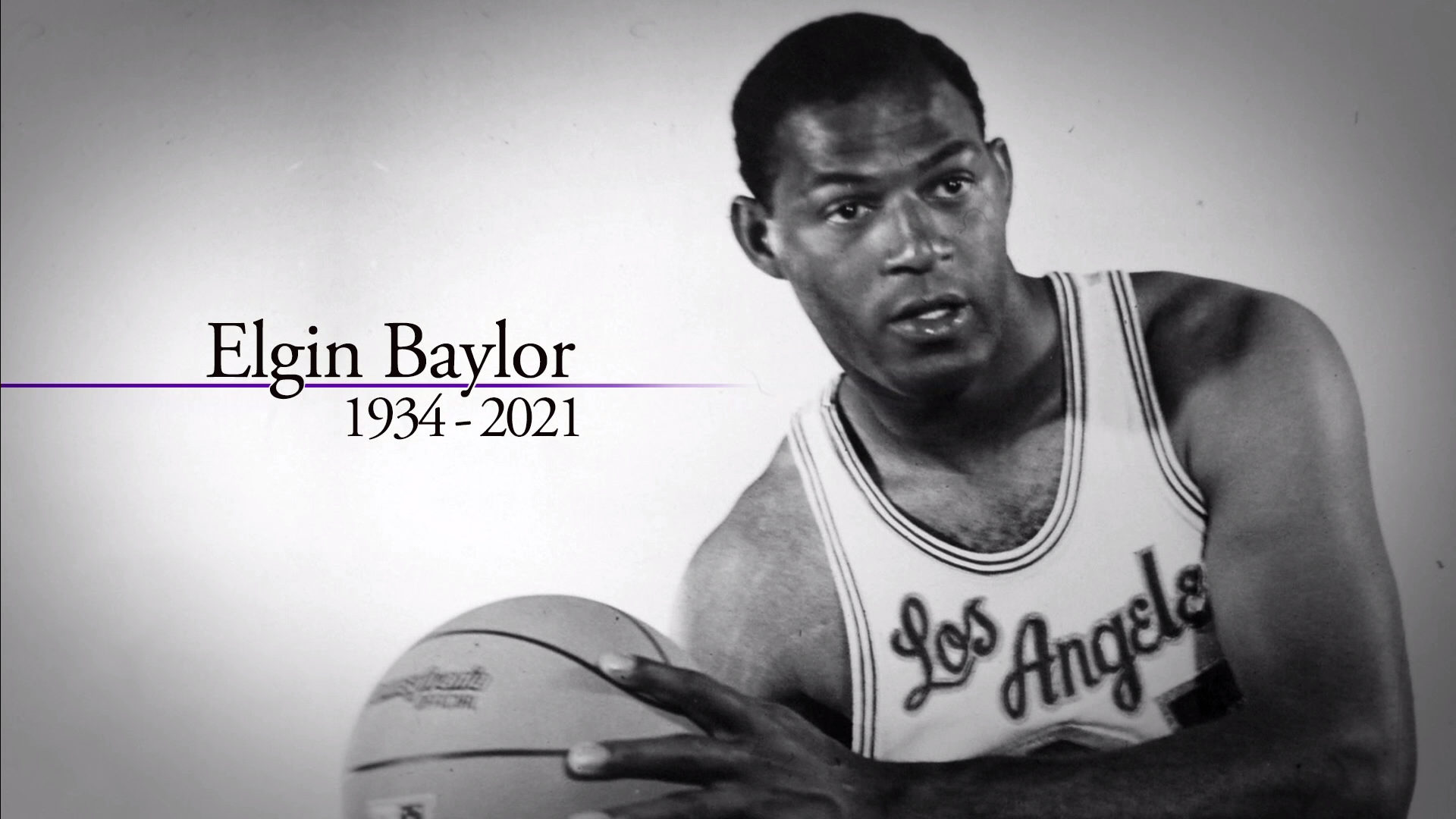 In Memoriam: Elgin Baylor