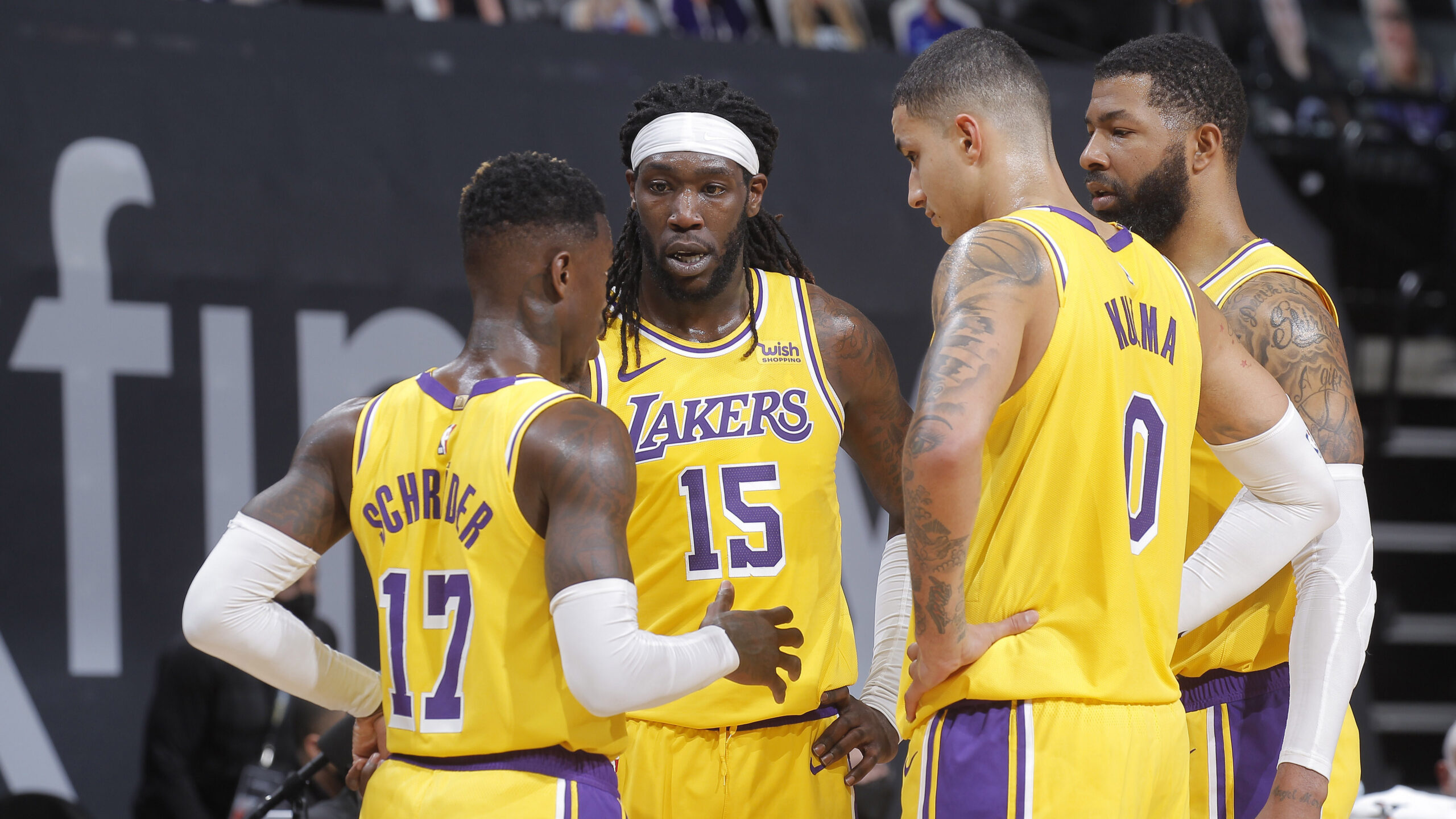 Lakers stay afloat in West without LeBron James and Anthony Davis
