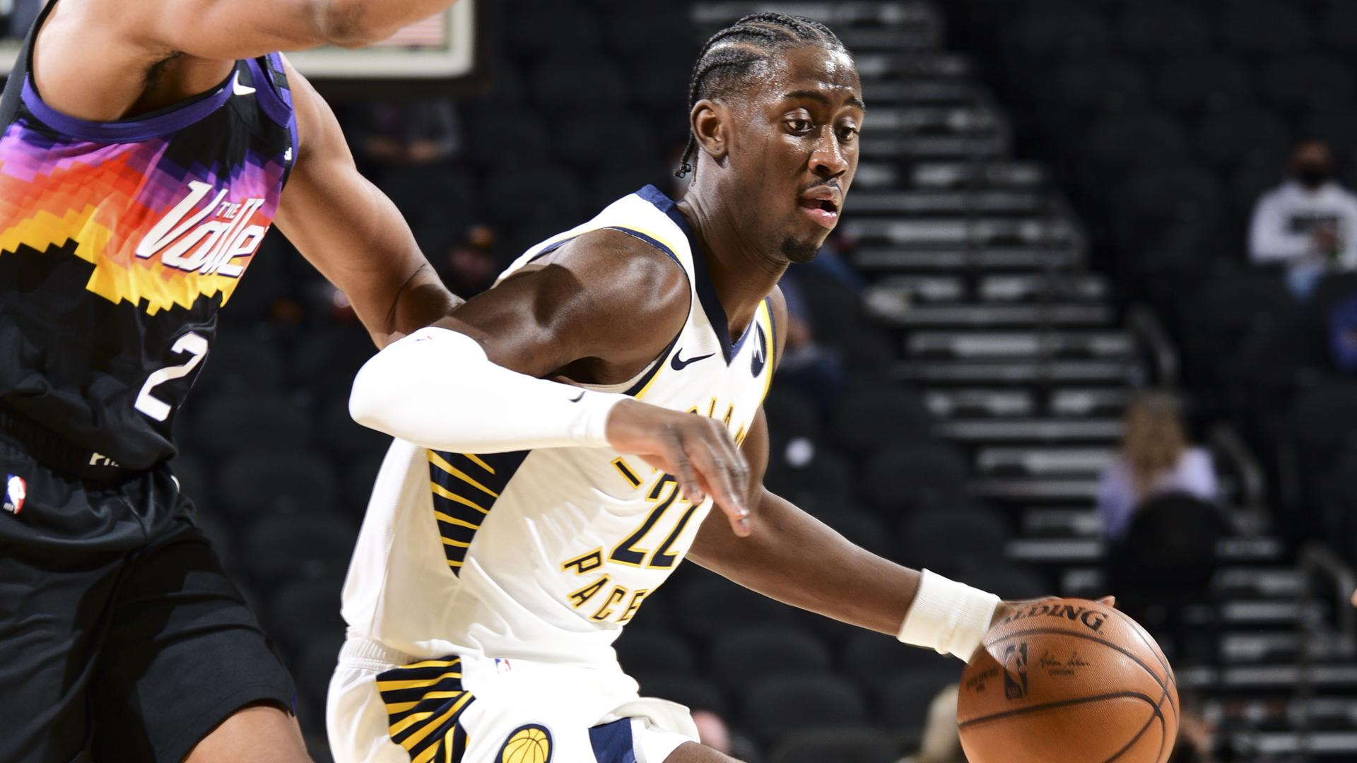 Caris LeVert scores 13 points in return to action