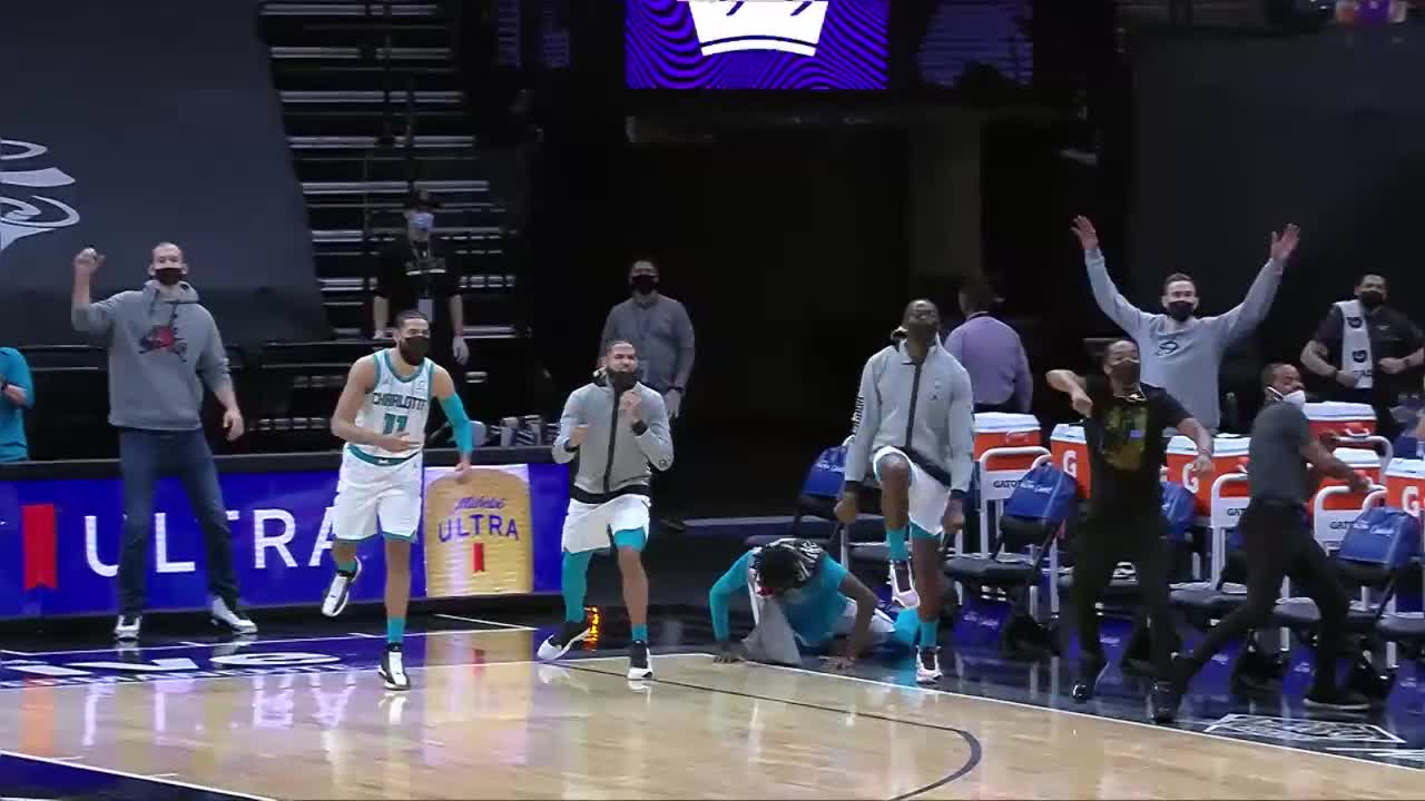 Charlotte Hornets Highlights vs. Sacramento Kings