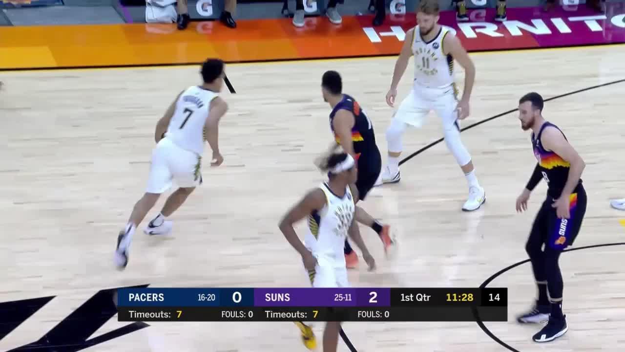 Malcolm Brogdon (25 points) Highlights vs. Phoenix Suns