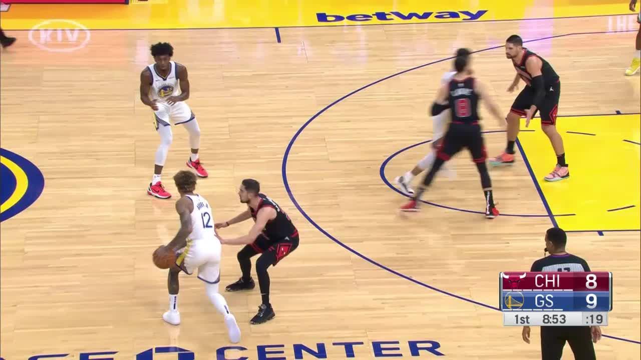 Golden State Warriors Highlights vs. Chicago Bulls