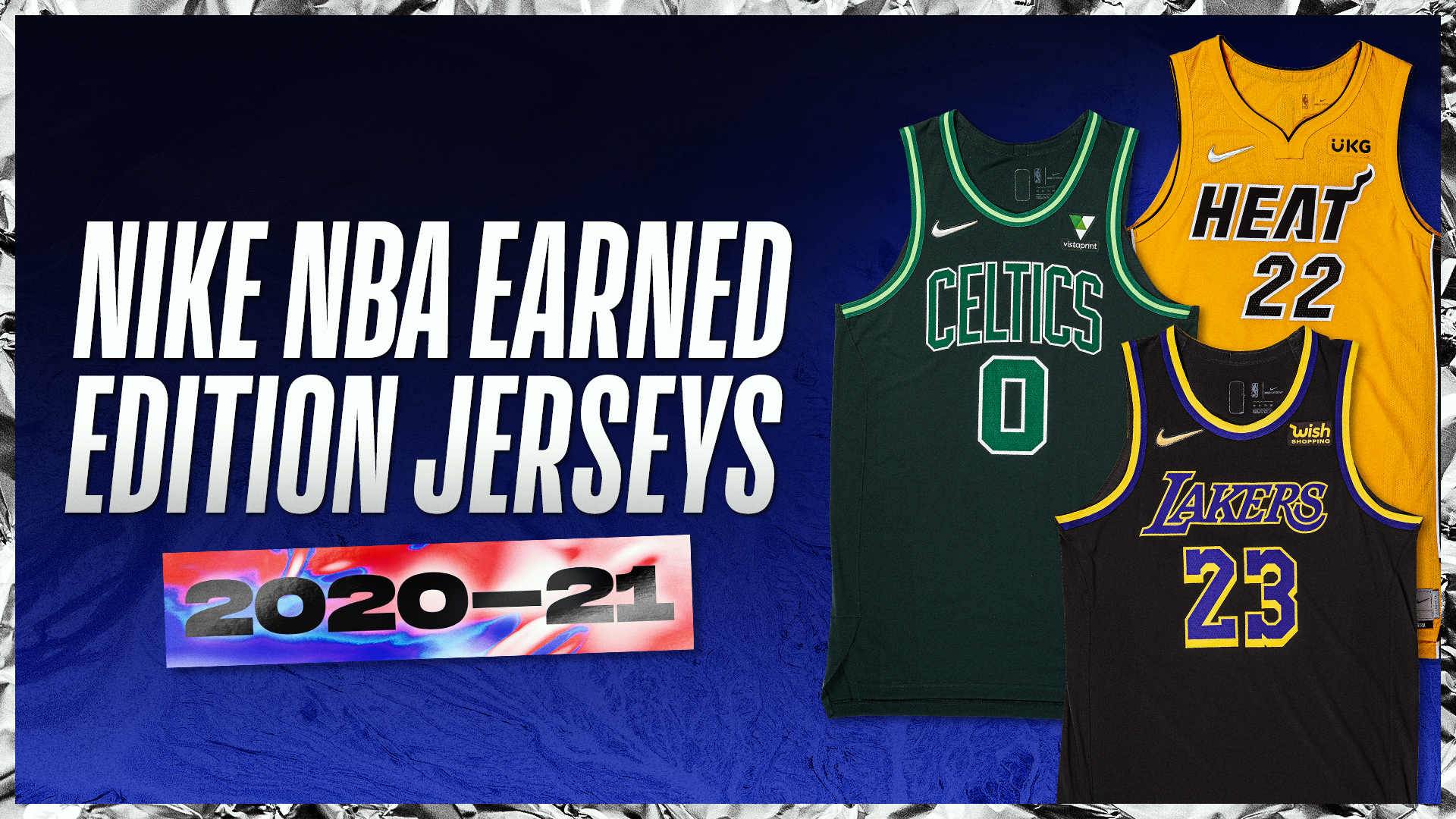 2020-21 Nike NBA Earned Edition Uniforms Are Available Now
