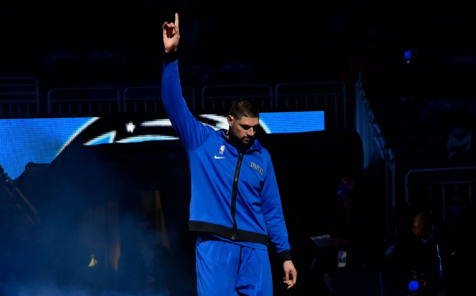 Bulls' Nikola Vucevic fights back tears as he reflects on Magic tenure