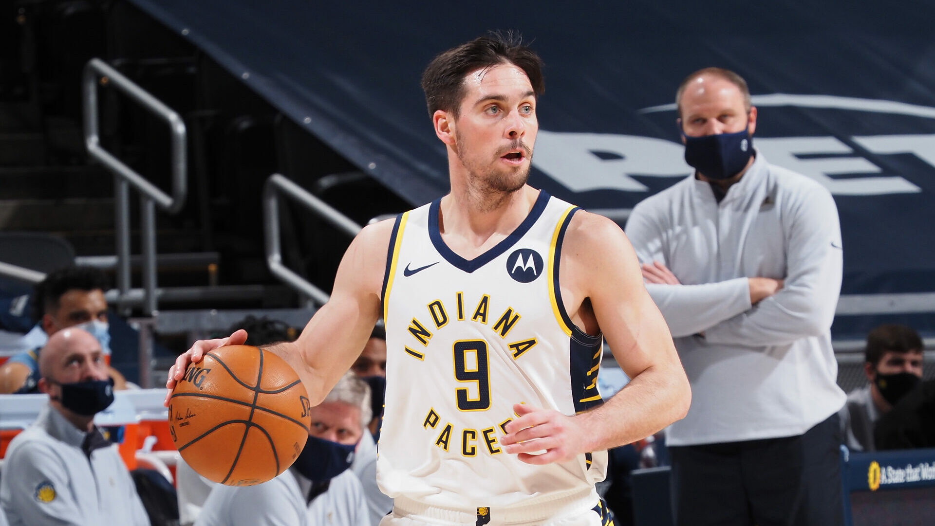 T.J. McConnell sets NBA record with 9 steals in first half