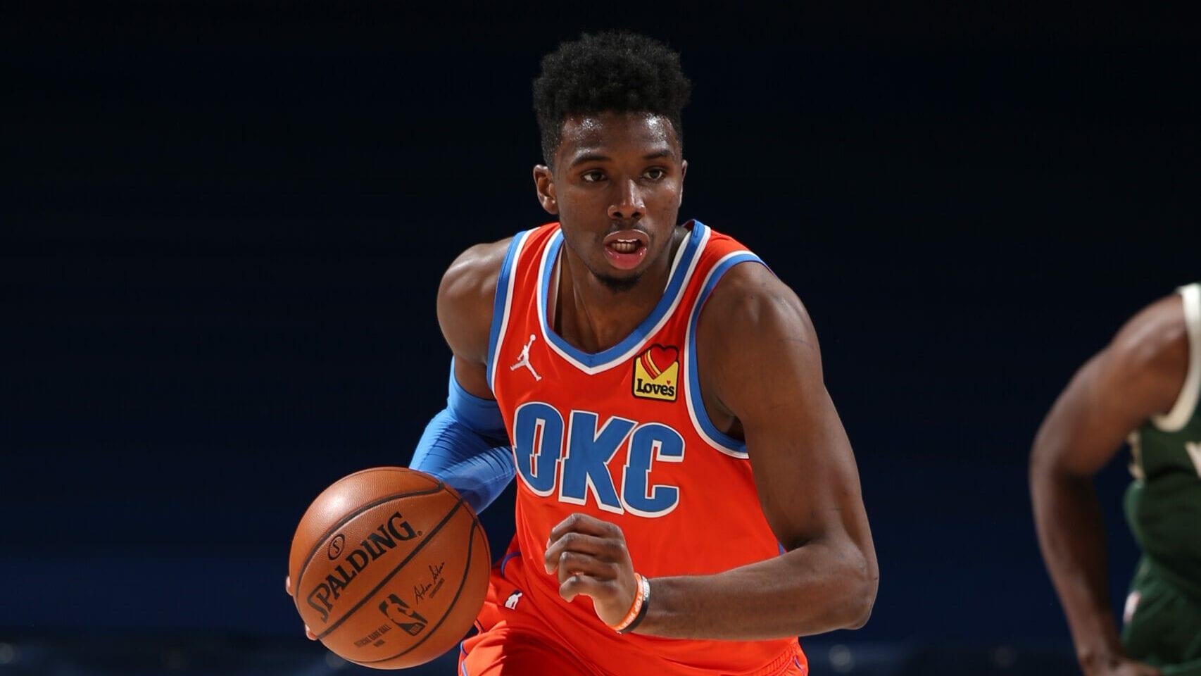 Thunder trade Hamidou Diallo to Pistons
