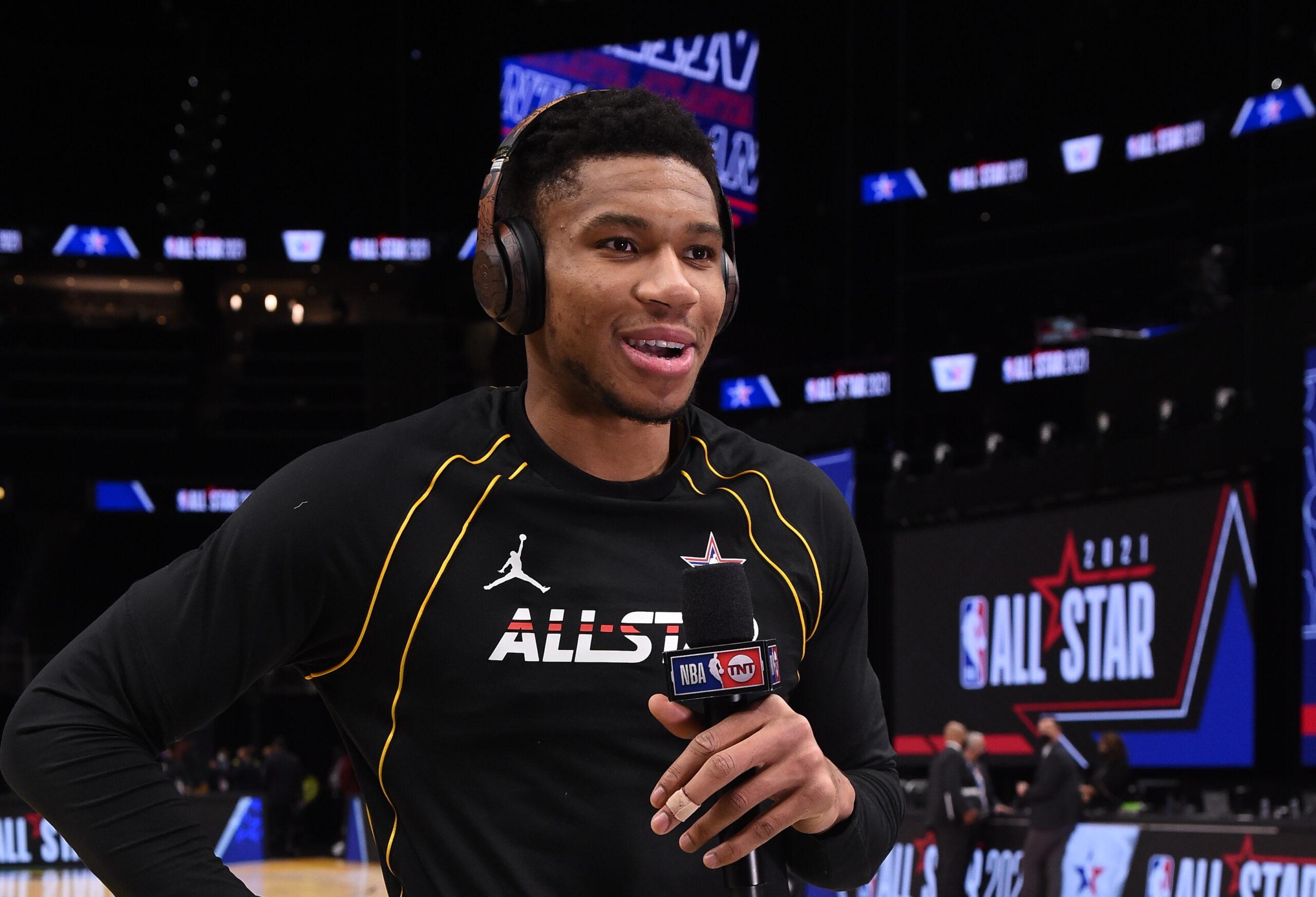 Antetokounmpo grateful NBA 'allows us to speak our minds'