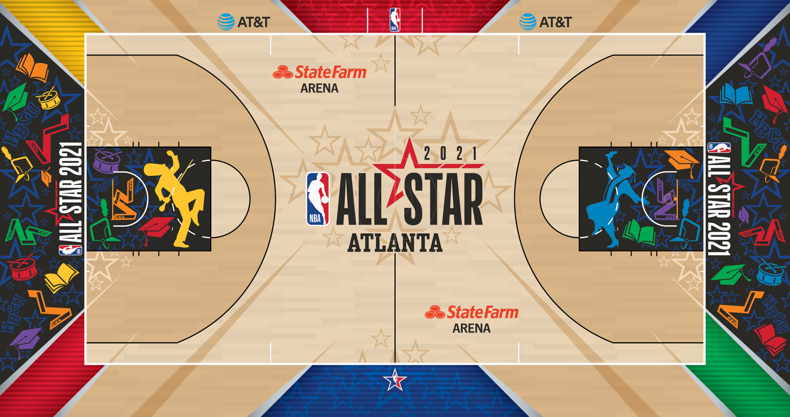 All-Star 2021 game court to represent HBCU spirit
