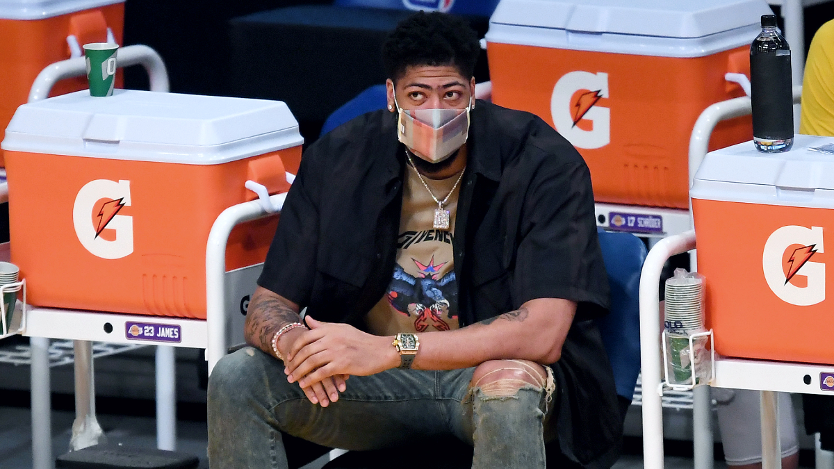 Anthony Davis out at least 2 more weeks with leg injuries