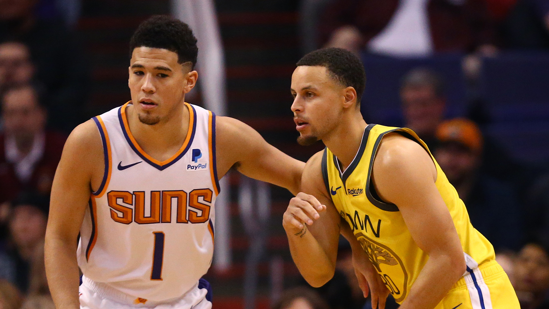 Booker, Curry highlight 2021 MTN DEW 3-Point Contest field