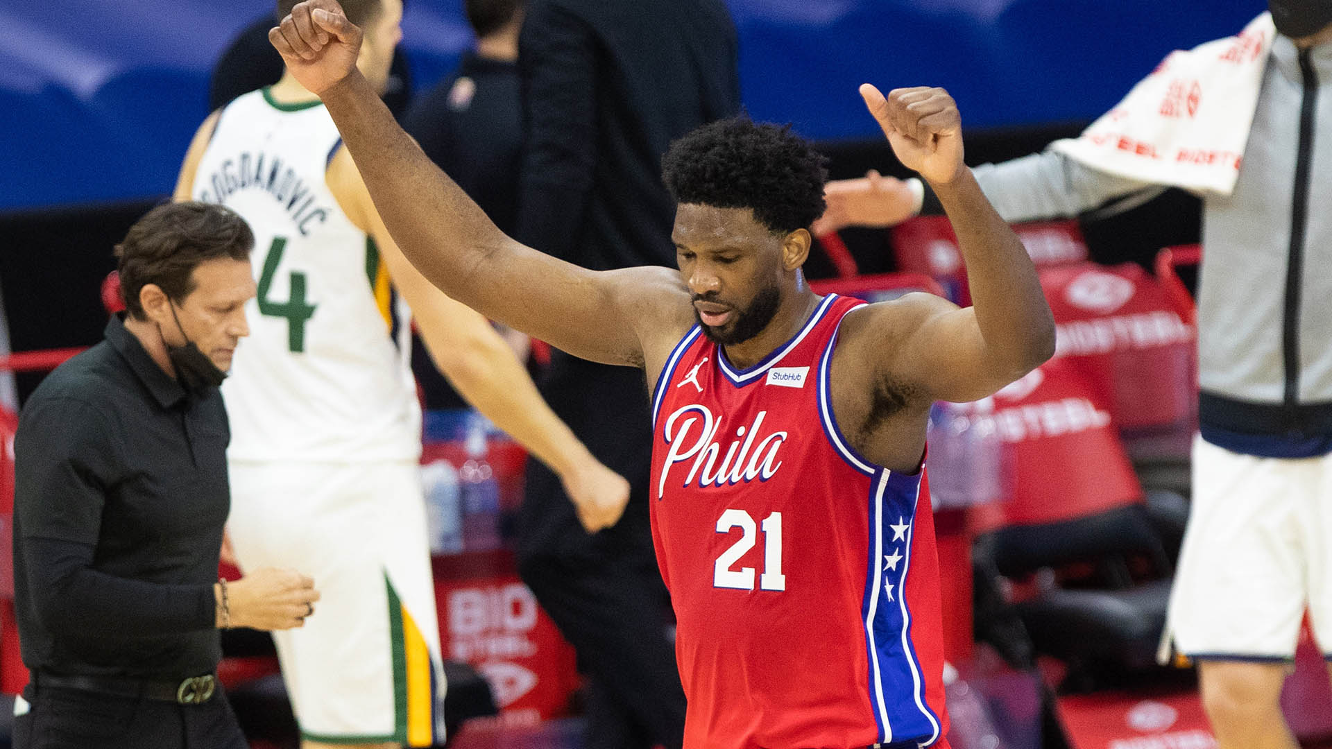 Full Focus: Embiid lights up Jazz in OT win