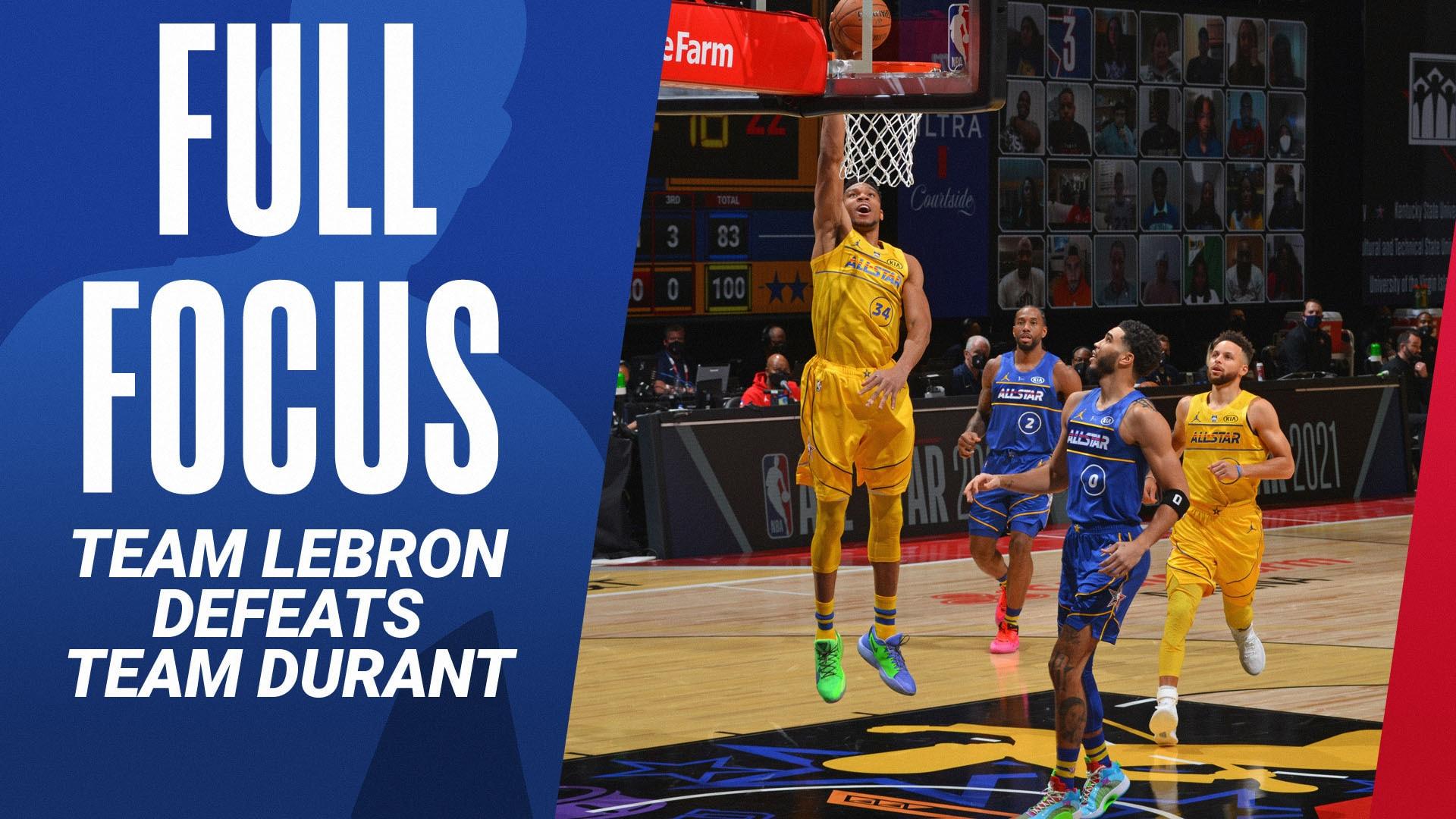 Full Focus: Team LeBron wins top honors