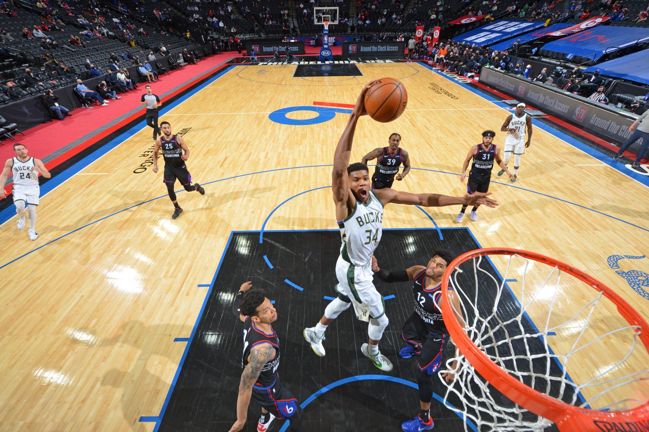 Milwaukee Bucks vs Philadelphia 76ers Mar 17, 2021 Game Summary   NBA.com